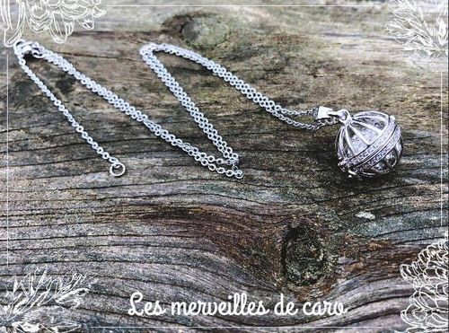 Collier Perle Silver
